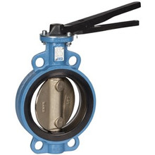 Metric BUTTERFLY VALVE, Wafer Type, GGG40 Body Stainless 316 Disc, EPDM Liner, Lever Handle