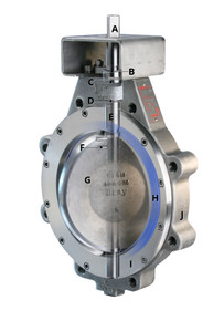 Lug Style High Performance Butterfly Valve