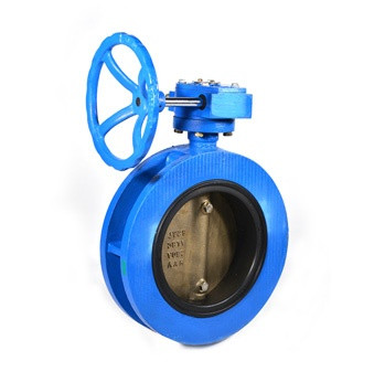 DN550 Undrilled Double Flanged Butterfly Valve w/ ABS Type Approval