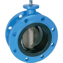 Metric Double Flanged Butterfly Valve - Long Pattern
