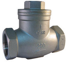 BSP Stainless 316 Threaded Swing Check Valve