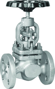 DIN Stainless 316 Flanged Globe Valve