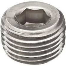 Stainless 316 Countersunk Plug 150#