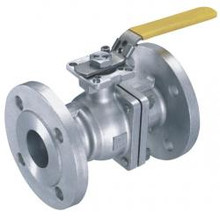 Stainless 316 Flanged Full Port Ball Valve with ABS Type Approval
