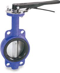 Ductile Iron Wafer, SS Disc, EPDM, Lever Butterfly Valve w/ ABS Type Approval