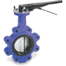 Ductile Iron Lug, SS Disc, EPDM, Lever Butterfly Valve w/ ABS Type Approval