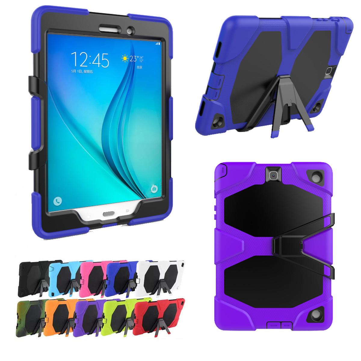 premium selection 42cab 124c2 Kids Samsung Galaxy Tab A 10.1 2019 T510 T515 Heavy Duty Case Cover