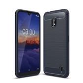 Slim Case For Nokia 2.2 Carbon Fibre Soft Cover