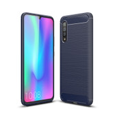 Slim Samsung Galaxy A90 5G Carbon Fibre Soft Carbon Case Cover A908
