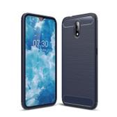 Slim Case For Nokia 2.3 Carbon Fibre Soft Cover