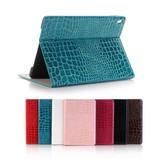 "iPad 10.2"" 2020 8th Gen Croc-Style Leather Apple Case Cover iPad8"