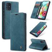 CaseMe Samsung Galaxy A71 4G Classic Leather Folio Case Cover A715
