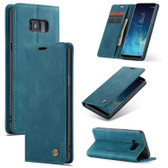 CaseMe Samsung Galaxy S8+ Plus Classic Leather Folio Case Cover Skin