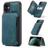 CaseMe Shockproof iPhone 11 PU Leather Case Cover Zipper Wallet Apple