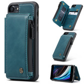 CaseMe Shockproof iPhone 7 8 PU Leather Case Cover Zipper Wallet Apple