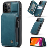 CaseMe Shockproof iPhone 12 Pro Max PU Leather Case Cover Wallet Apple