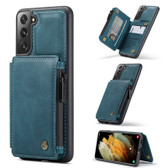 CaseMe Shockproof Samsung Galaxy S21 5G 4G Case Cover Zipper Wallet