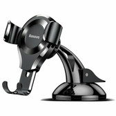 Baseus Gravity Mobile Phone Car Holder Suction Mount Windscreen Stand