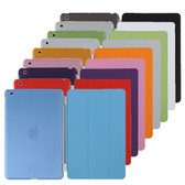 iPad mini 1 2 3 Retina Smart Cover + Back Case Apple mini1 mini2 mini3