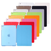 iPad 2 3 4 Smart Leather Cover + Back Case (Apple iPad2 iPad3 iPad4)