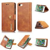 DG.Ming iPhone 7 8 Detachable Classic Folio Leather Case Cover Apple