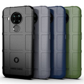 Shockproof Case For Nokia 5.4 Heavy Duty Soft Tough Cover Grid Style