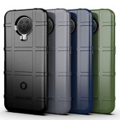 Shockproof Case For Nokia G10 Heavy Duty Soft Tough Cover Grid Style