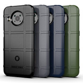 Shockproof Case Nokia X20 5G Heavy Duty Soft Tough Cover Grid Style