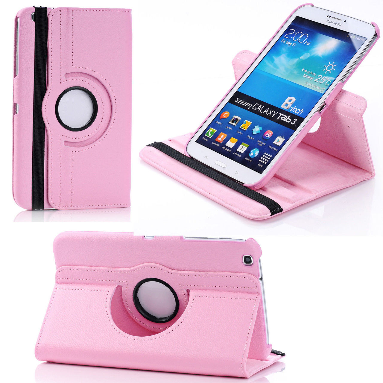 big sale 662f6 efb00 Samsung Galaxy Tab 4 8.0 T330 T331 T335 360 Case Cover Tab4 8 inch
