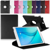 "Samsung Galaxy Tab S2 9.7"" T810 T815 360 Rotate Leather Case Cover 10"""