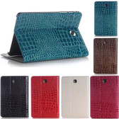 "Samsung Galaxy Tab A 9.7"" T550 T555 P550 Croc-style Leather Case Cover"