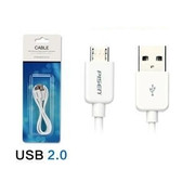 Micro USB Data Charger Cable - Samsung Galaxy S4 S3 Note 2 HTC Adapter