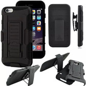 Apple iPhone 5 5S Shockproof Heavy Duty Case Cover Belt Clip Kickstand