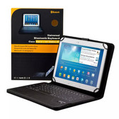 "Universal 7""/8"" Bluetooth Keyboard Leather Case 4 Samsung Galaxy S2 S 3 4 7.0 Lite 8.0 Pro 8.4 inch Asus Acer Pendo Pad Onix Unisurf Aldi Bauhn"