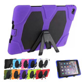 Heavy Duty iPad Air Kids Case Cover 3-in-1 Apple Skin Shockproof