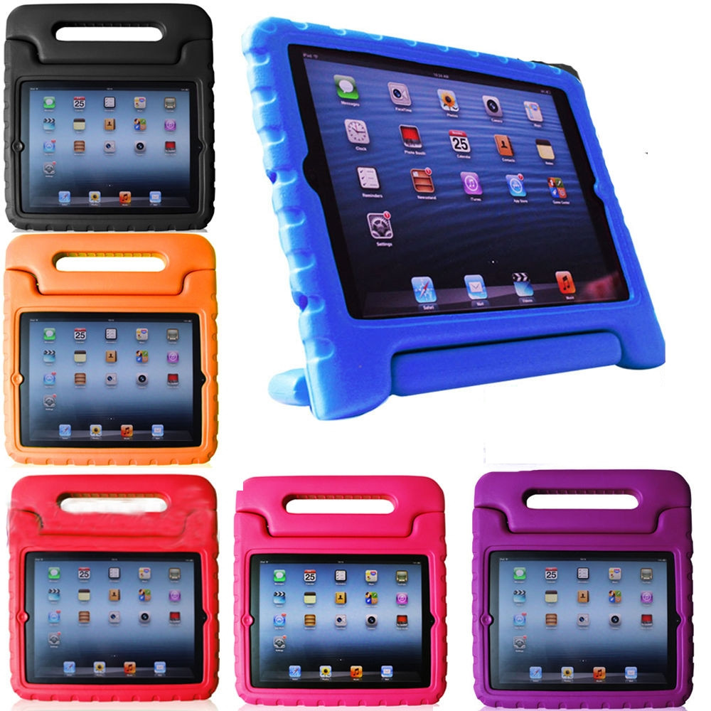 wholesale dealer 85db6 22f1e Kids iPad 9.7 inch (2017) Shockproof Case Cover Children Apple iPad5 5