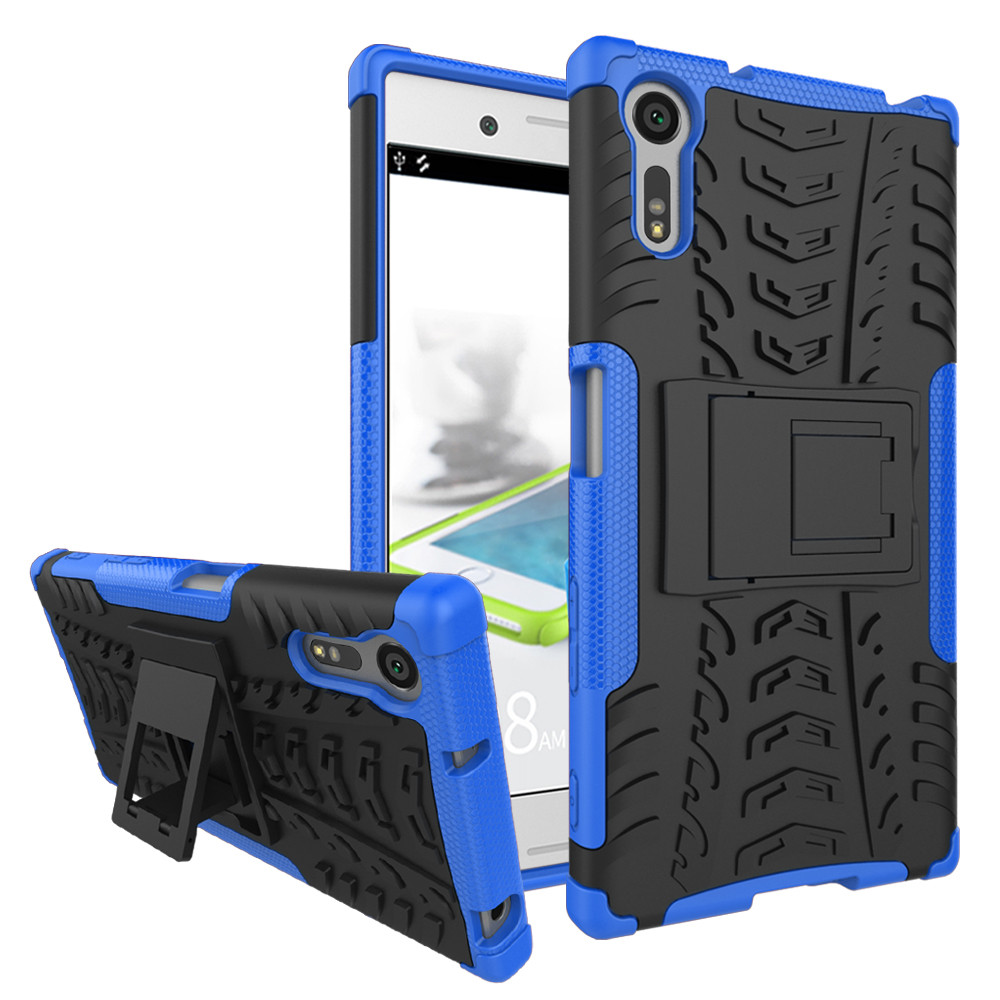 sports shoes 57968 7579c Heavy Duty Sony Xperia XZ Mobile Phone Shockproof Case Cover Handset