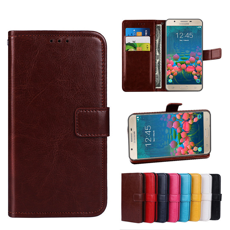 new concept 45612 38bcd Folio Case Samsung Galaxy J7 Prime 2016 Leather Case Cover On Nxt