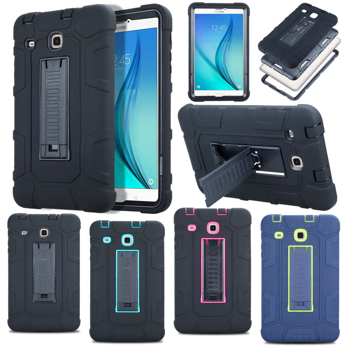 buy online 52d54 303b7 Stylish Shockproof Samsung Galaxy Tab A/A6 10.1 Case Cover T580 T585