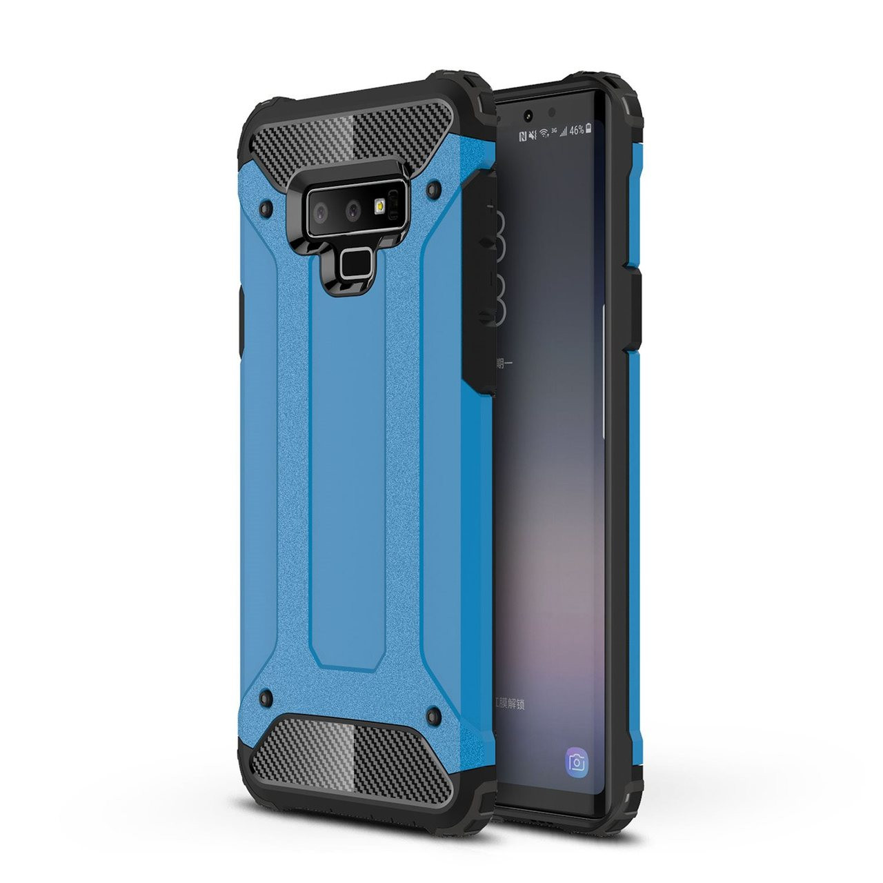 the best attitude 9f3e5 71205 Shockproof Samsung Galaxy Note 9 Heavy Duty Tough Case Cover Note9