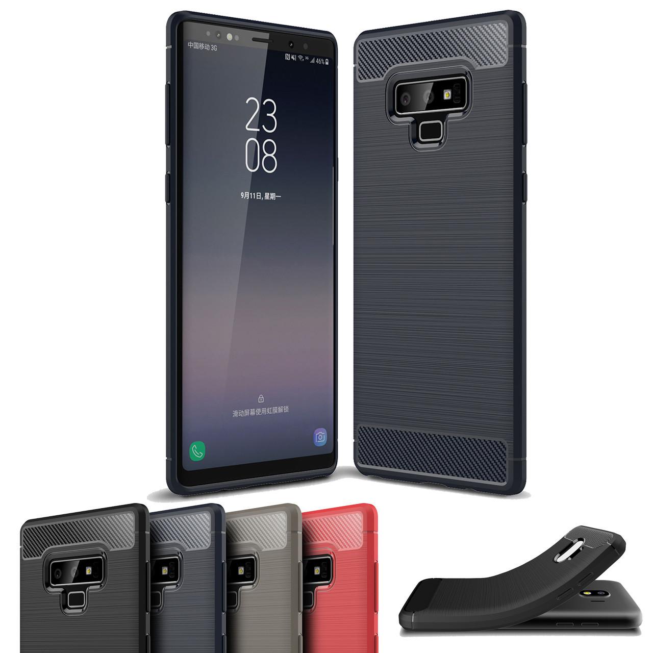 best website 72fbc 70e9e Slim Samsung Galaxy Note 9 Carbon Fibre Soft Carbon Case Cover Note9