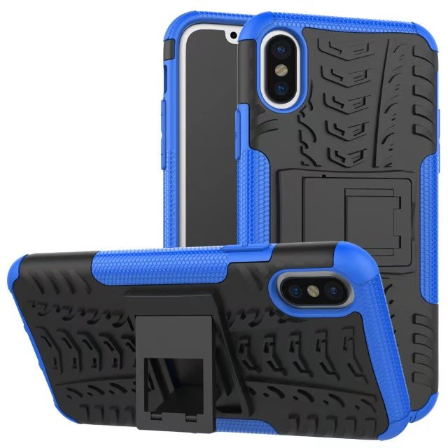 best cheap b065c 54505 Heavy Duty iPhone Xs Max Shockproof Case Cover Tough Skin for Apple