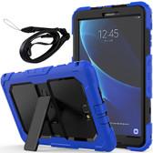 Heavy Duty Samsung Galaxy Tab A 10.5 Strap Case T590 Kids Shockproof