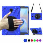 "Heavy Duty Strap Samsung Galaxy Tab A 10.5"" T590 T595 Kids Case Cover"