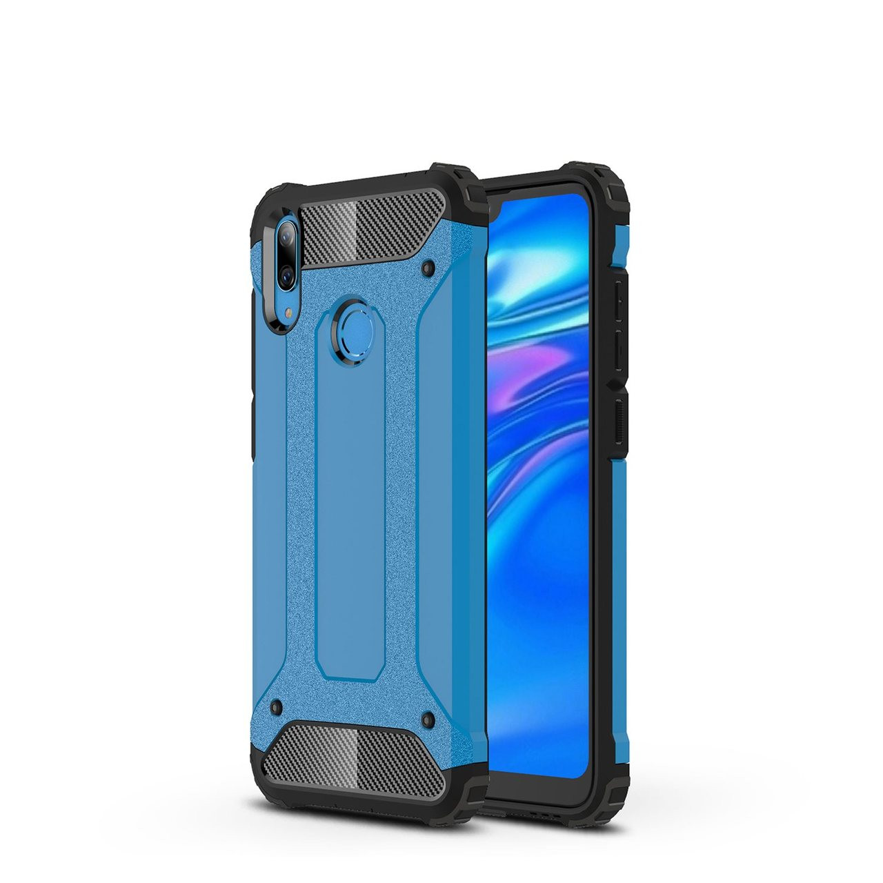 release date: a5f10 dc97d Shockproof Huawei Y7 Pro 2019 Heavy Duty Mobile Phone Case Cover