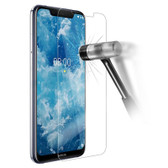 Nokia 5.1 Plus / X5 Tempered Glass Screen Protector Mobile Phone Guard