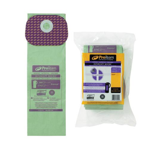 ProTeam Part #103191 Paper Filter Bag, Fits Everest 10 Pack
