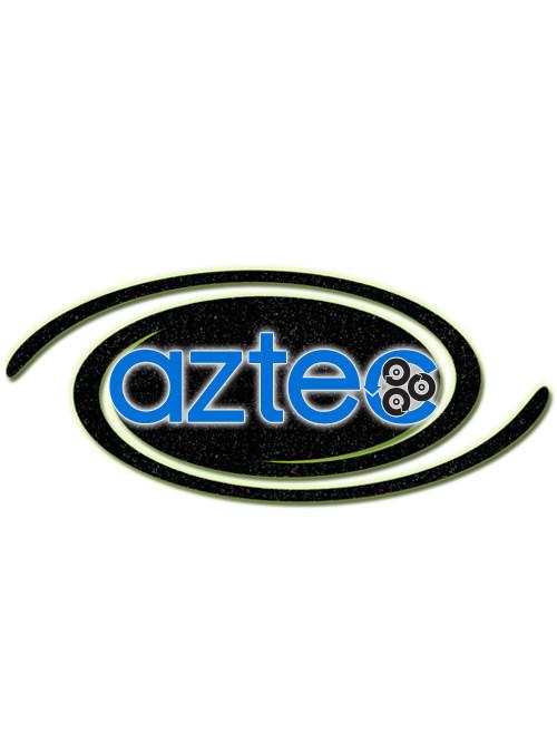 "Aztec Part #253-08082 10"" Blue Superscrub Pad-Sw Drv"