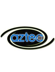 Aztec Part #S2H-31 Control Panel Plate