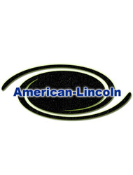 American Lincoln Part #7-08-00860 Bracket Pulley Mntg Black